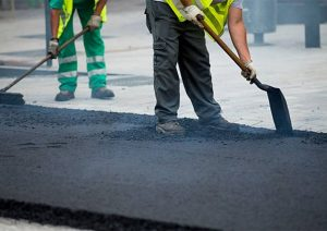 Seaham road surfacing