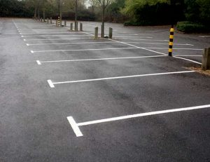 Line Markings in Blackhall