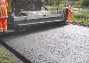 road resurfacing Whitburn