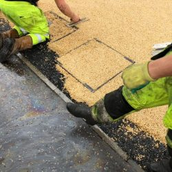 How to lay a resin drive in Darlington